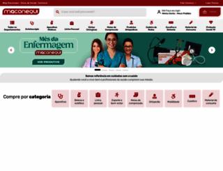 maconequi.com.br screenshot