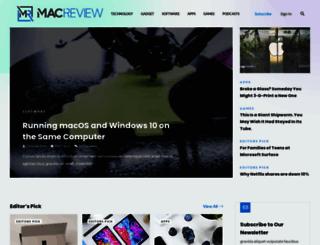 macreview.com screenshot