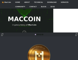 macricoin.com screenshot