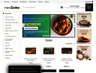 macrocenter.com.tr screenshot