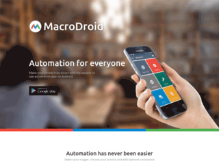macrodroid.com screenshot