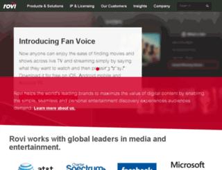 macrovision.com screenshot