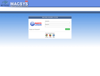 macsys2.machung.ac.id screenshot