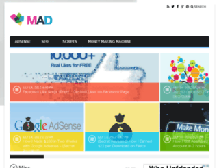mad.gizpad.com screenshot