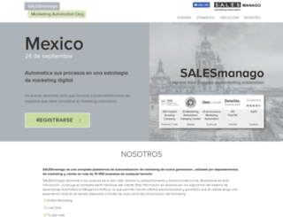mad.salesmanago.com screenshot