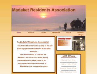 madaketresidentsassociation.org screenshot