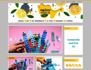 madame-citron.fr screenshot