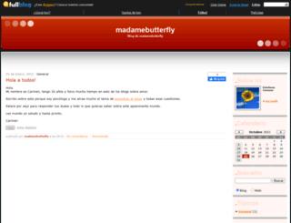 madamebutterfly.fullblog.com screenshot