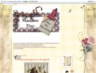 madametruc.blogspot.com screenshot