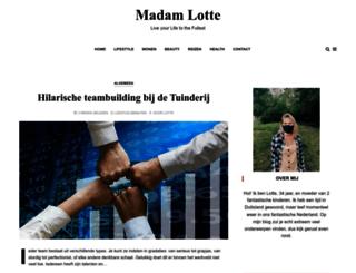 madamlotte.nl screenshot