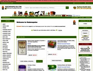 madanapalas.com screenshot