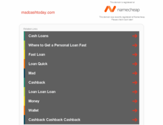madcashtoday.com screenshot