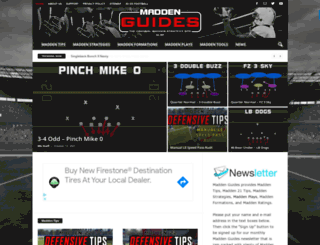 maddenguides.com screenshot