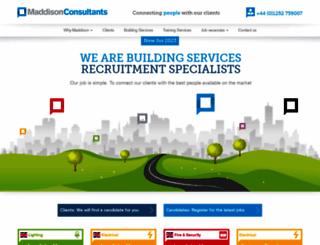 maddisonconsultants.co.uk screenshot