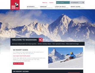 maddogski.com screenshot
