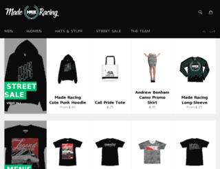 madeapparel.storenvy.com screenshot