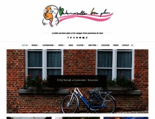 mademoisellebonplan.fr screenshot