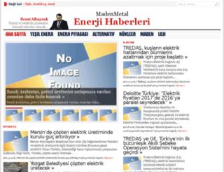 madenmetal.net screenshot