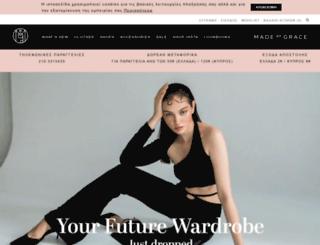 madeofgrace.com screenshot