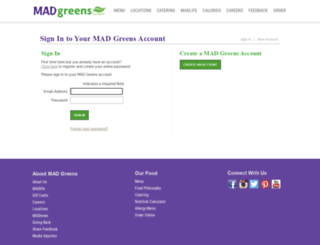 madgreens.brinkpos.net screenshot