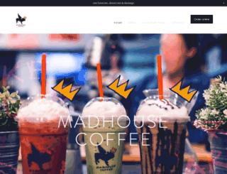 madhouse.coffee screenshot