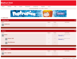 madhuridixit.frbb.net screenshot