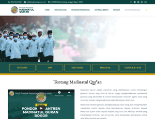 madinatulquran.or.id screenshot
