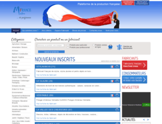 madine-france.com screenshot