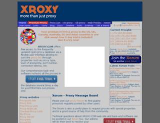 madison.xroxy.com screenshot