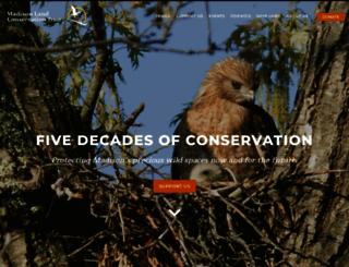 madisonlandtrust.org screenshot