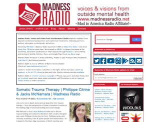 madnessradio.net screenshot