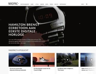 madpac.nl screenshot