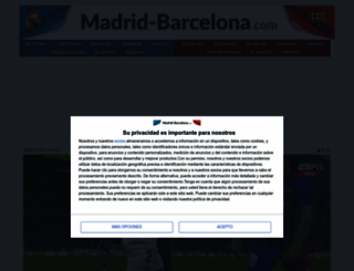 madrid-barcelona.com screenshot