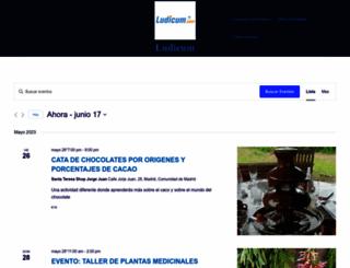 madrid.ludicum.com screenshot