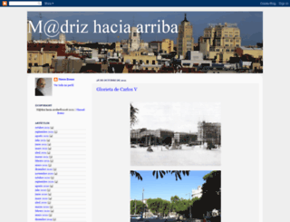 madridhaciaarriba.blogspot.com screenshot