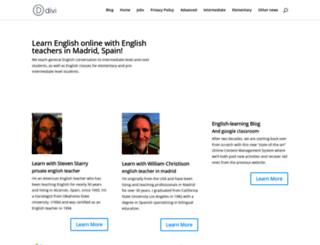 madridteacher.com screenshot