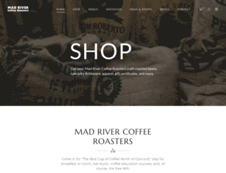 madrivercoffeeroasters.com screenshot
