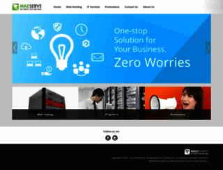 madserve.com screenshot