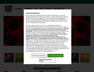 maec-geiz.de screenshot