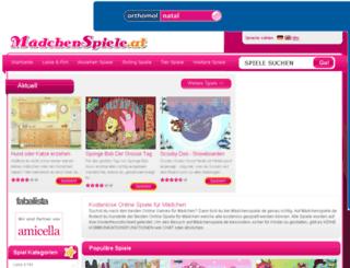maedchenspiele.at screenshot