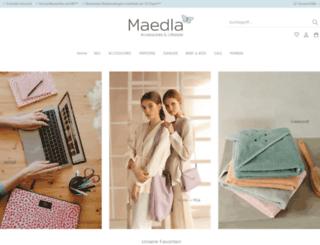 maedla.de screenshot