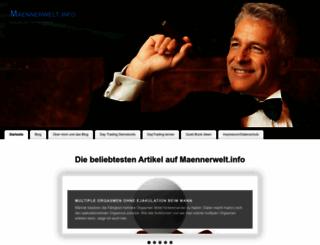 maennerwelt.info screenshot