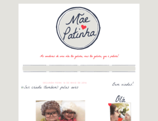 maepatinha.blogspot.pt screenshot