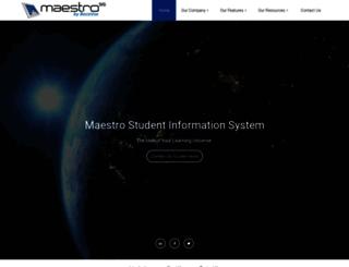 maestrosis.com screenshot