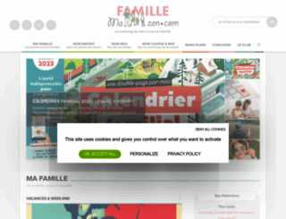 mafamillezen.com screenshot