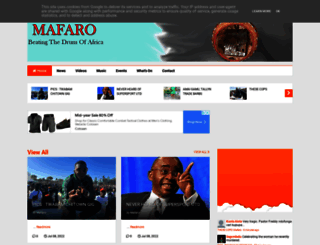 mafaro.co.uk screenshot