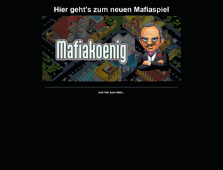 mafiakoenig.de screenshot