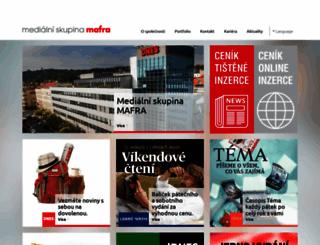mafra.cz screenshot