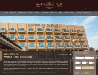 mafraq-hotel.net screenshot