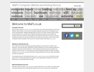 maft.uk screenshot